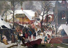 Brueghel: adoration des mages